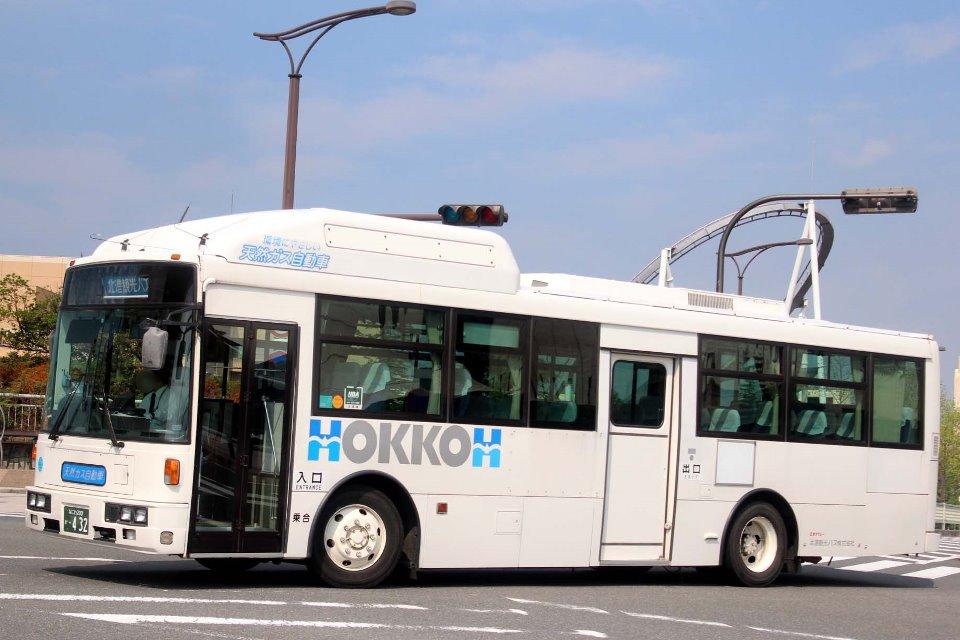 北港観光バス か432