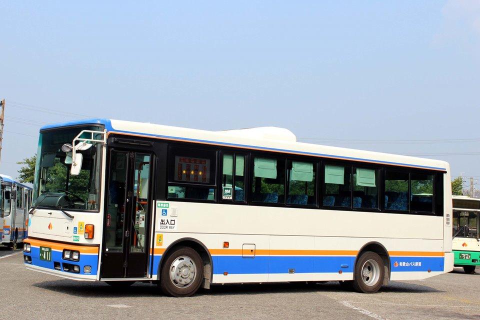 和歌山バス那賀 か411