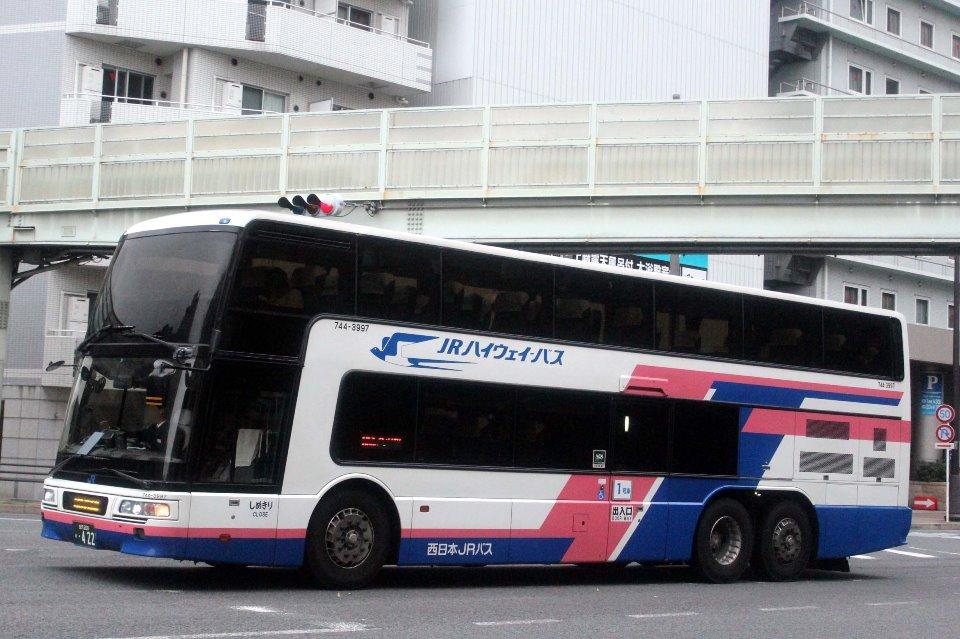 西日本JRバス 744-3997