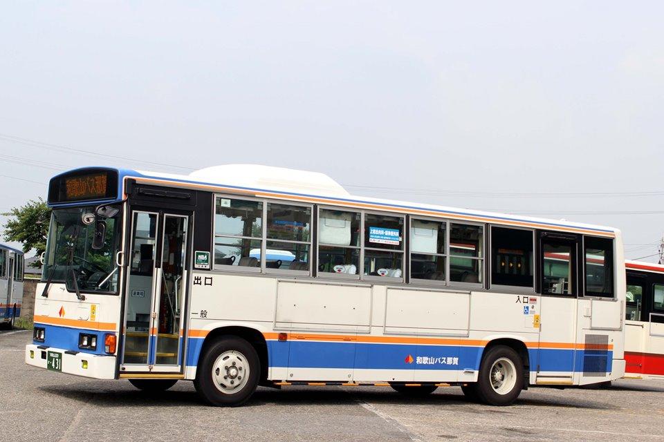 和歌山バス那賀 か431