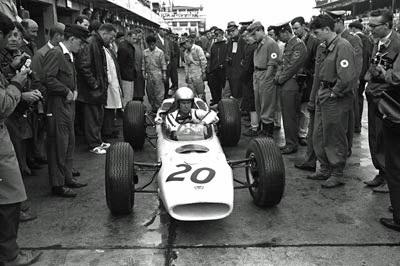 HondaのGPデビュー戦、1964年ドイツGP