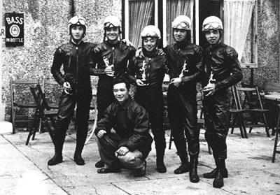マン島TTレース初参戦のホンダチーム