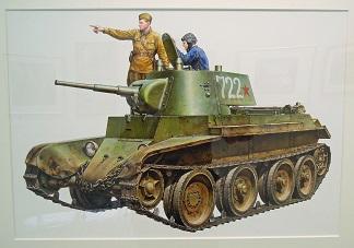 大西将美:ソヴィエト軍戦車BT-7