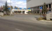 白石清掃工場搬入口