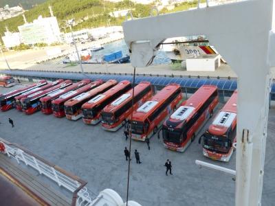 オプションツアーのバス 2013 10・18