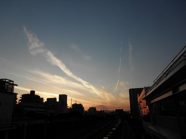 20140102夕焼け