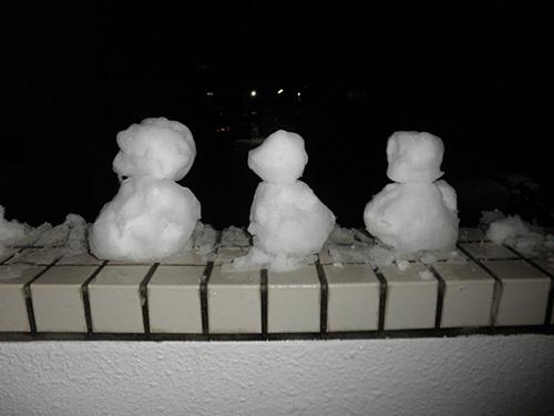 20140208雪だるま