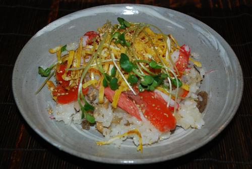 五目寿司6