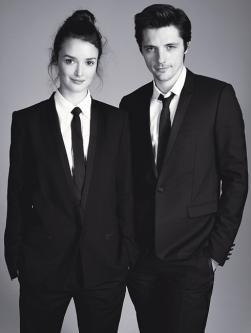 Charlotte Le Bon et Raphaël Personnaz