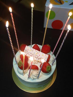 36誕生日ケーキ