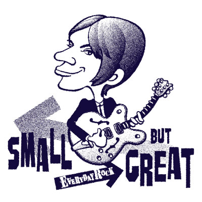EverydayRock T Shirt Steve Marriott Small Faces Caricature