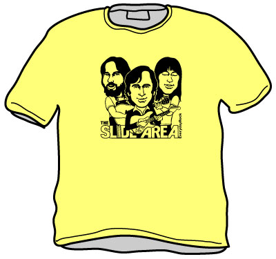 EverydayRock T Shirt Ry Cooder Jesse Ed Davis Lowell George Caricature