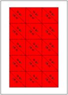 三角くじテンプレート・フォーマット・雛形