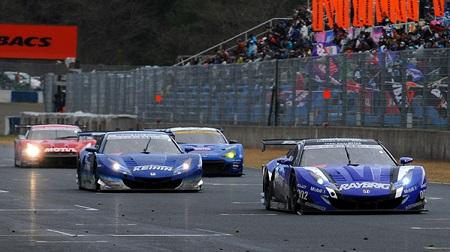 2013年 SUPER GT ラウンド1 岡山 決勝