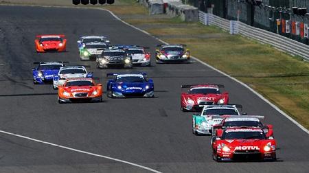 2013年 SUPER GT ラウンド5 鈴鹿 決勝