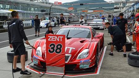 2013年 SUPER GT ラウンド7 オートポリス 予選