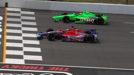 インディカー2013第10戦の予選