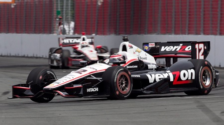 インディカー2013第11戦レース1の決勝