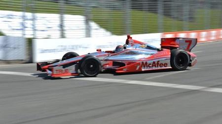 インディカー2013第11戦レース2の決勝