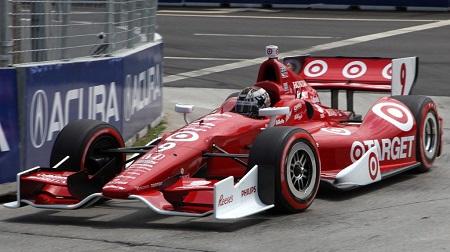 インディカー2013第11戦の予選2