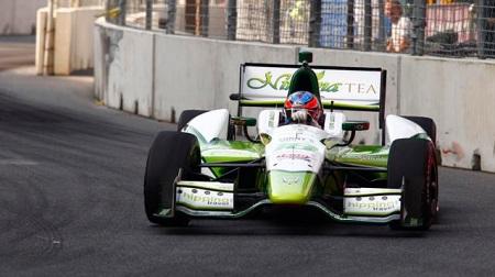 インディカー2013第14戦の予選