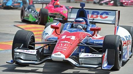 インディカー2013第15戦レース1の予選