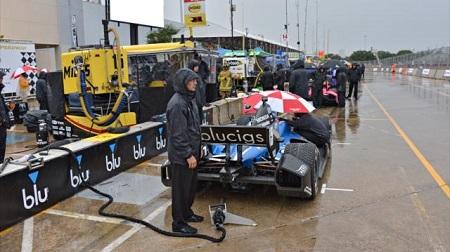インディカー2013第15戦レース2の予選
