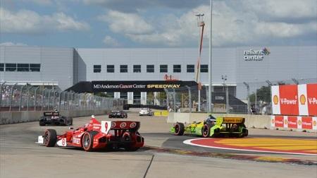 インディカー2013第15戦レース1の決勝