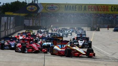 インディカー2013第15戦レース2の決勝