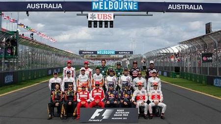 2013年のF1ドライバーの平均身長