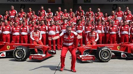 フェラーリのアロンソとマッサの実力