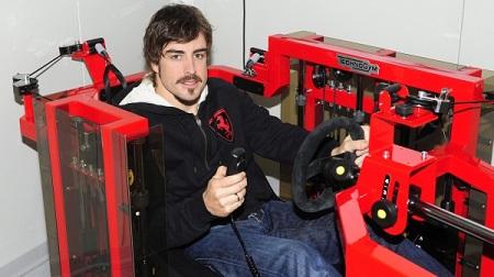 F1ドライバーのトレーニング