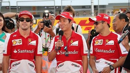 2013年F1第15戦 日本、フェラーリドライバーズ