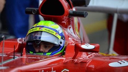 2013年F1イギリスGP、やってしまったマッサ