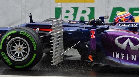 2013年F1第19戦 ブラジルGP、レッドブルの計測器