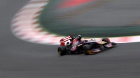 2013年F1スペインGP、トロロッソのベルニュ