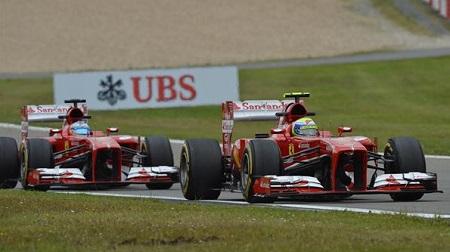 2013年F1ドイツGP、フェラーリデュオ