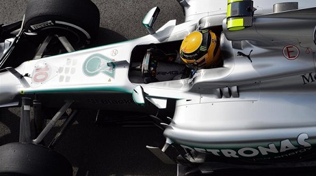 F1第8戦 イギリス予選:ハミルトン