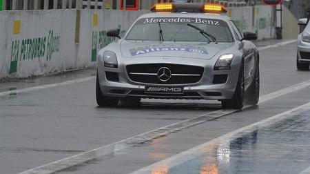 F1 第19戦 ブラジル予選:大活躍のセーフティカー