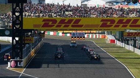 2013年F1第15戦のスタート
