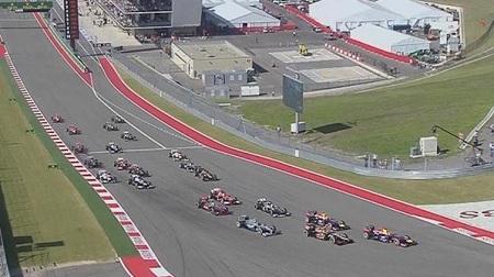 2013年F1第18戦のスタート