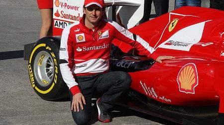 フェラーリがプライベートテスト