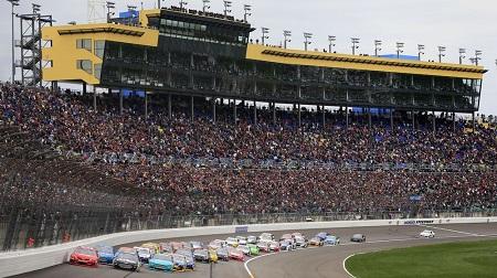 NASCAR 2013 スプリントカップ カンザス 結果