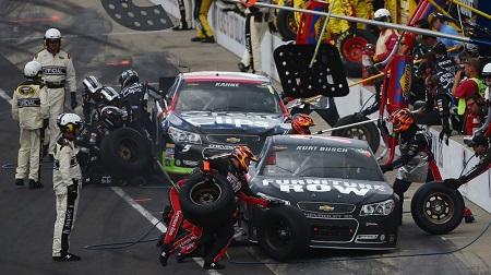 NASCAR 2013 スプリントカップ インディアナポリス 結果