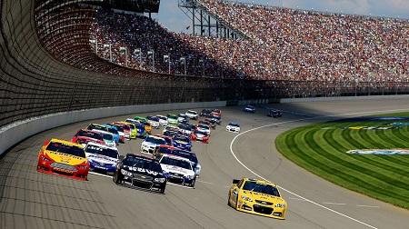NASCAR 2013 スプリントカップ ミシガン 結果