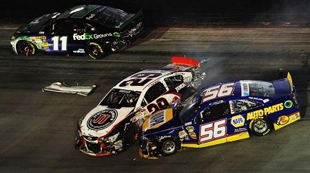 NASCAR 2013 スプリントカップ ブリストル 結果