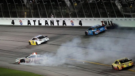 NASCAR 2013 スプリントカップ アトランタ 結果