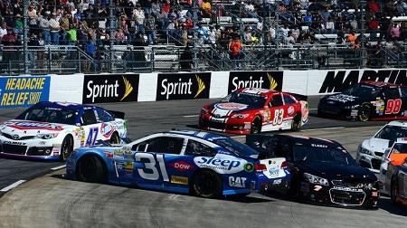 NASCAR 2013 スプリントカップ マーチンズビル 結果