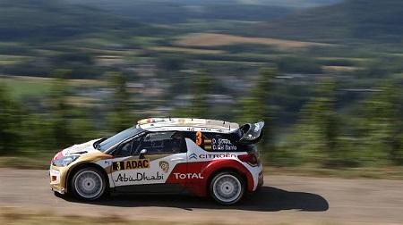 2013 WRC 第9戦 ラリードイチェラント 結果