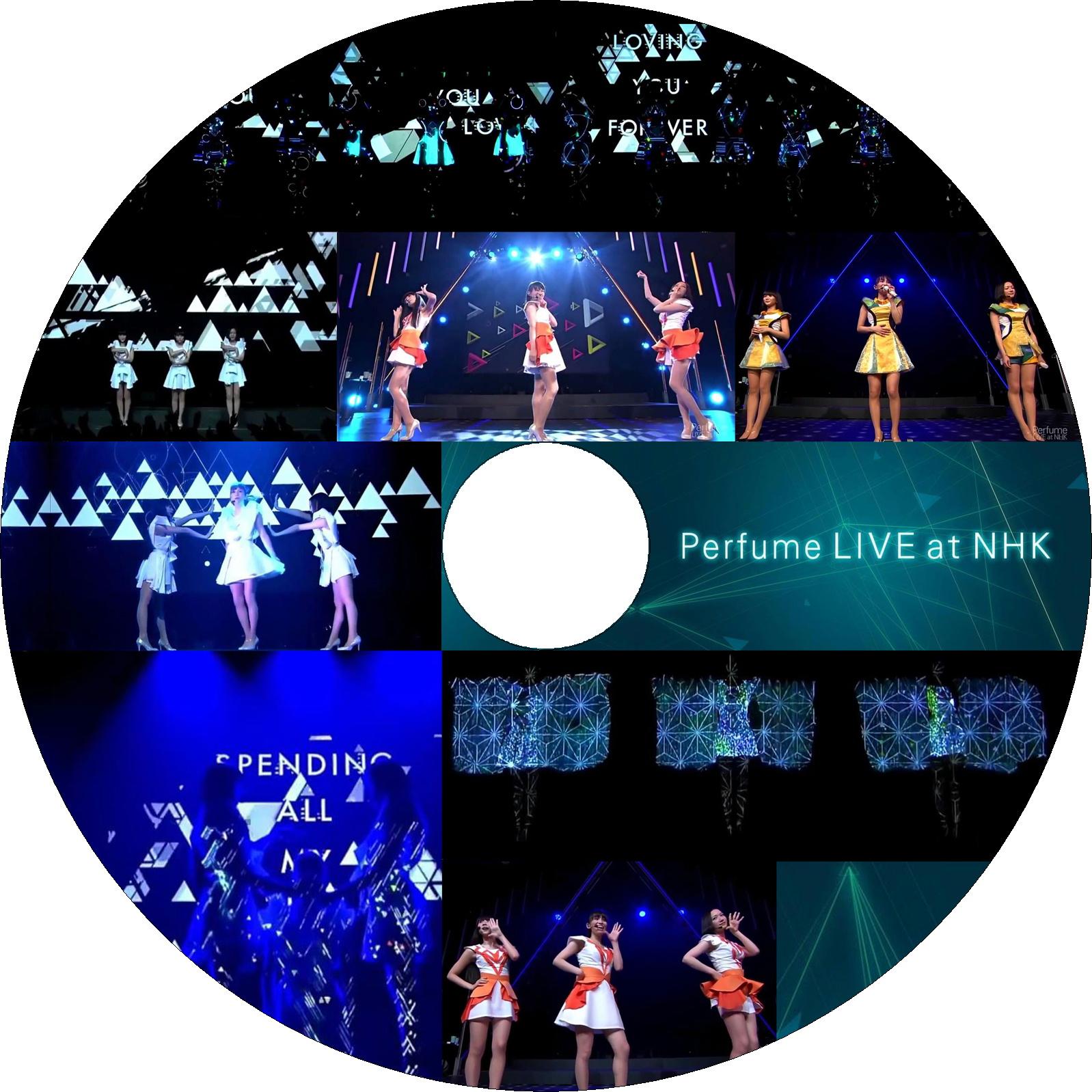 Perfume LIVE at NHK ラベル